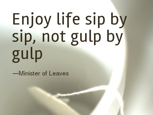31 Days on Coming to Grips with My Age ~ Day 16: Sip by Sip