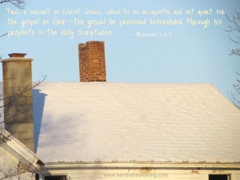 romans project, romans 1:1-2