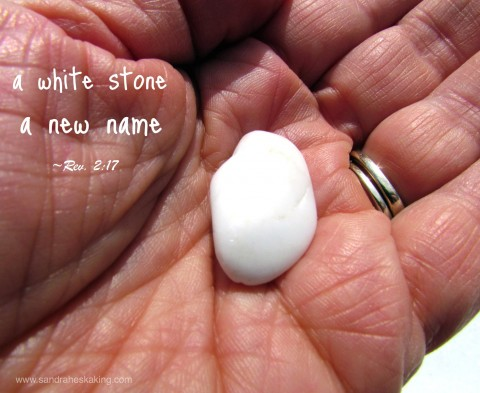 new name, white stone, Revelation 3:17