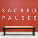 sacred pauses badge