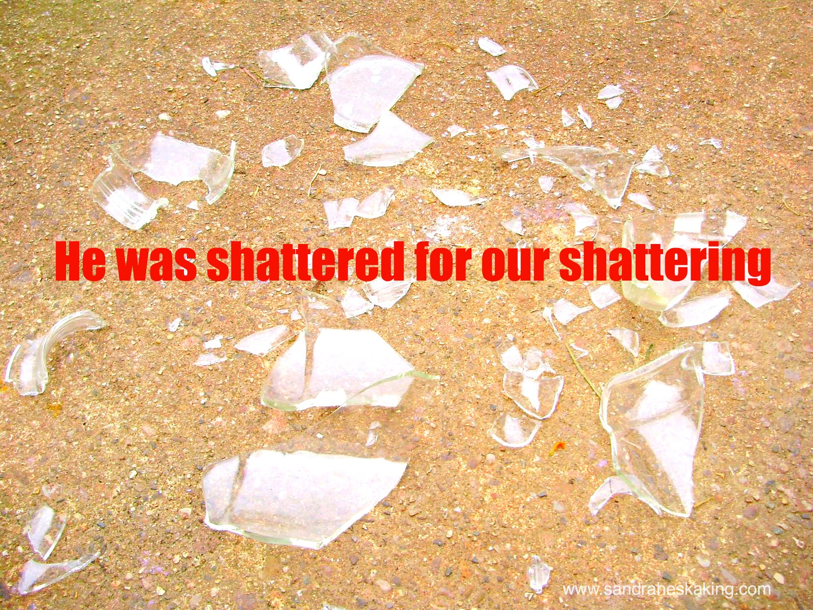 five minute friday: shattered