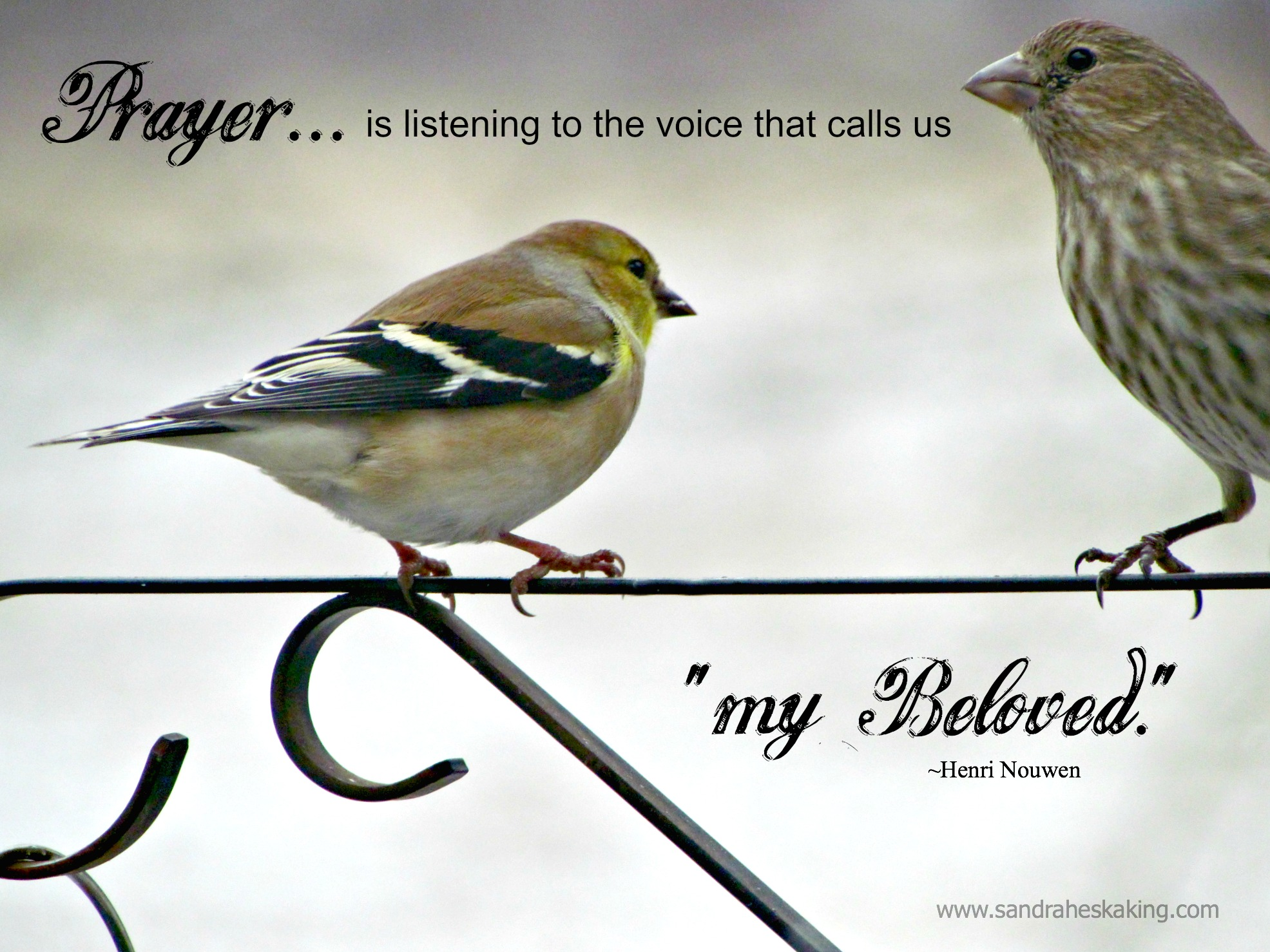 still saturday: how to hear the voice that matters