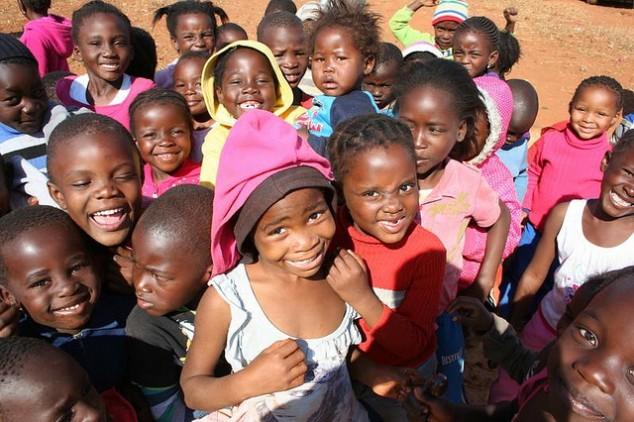 Maubane children