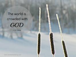 still saturday: crowded with god