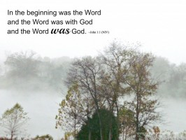 scripture sunday: the word
