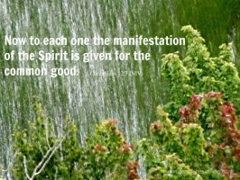 manifestation of the Spirit