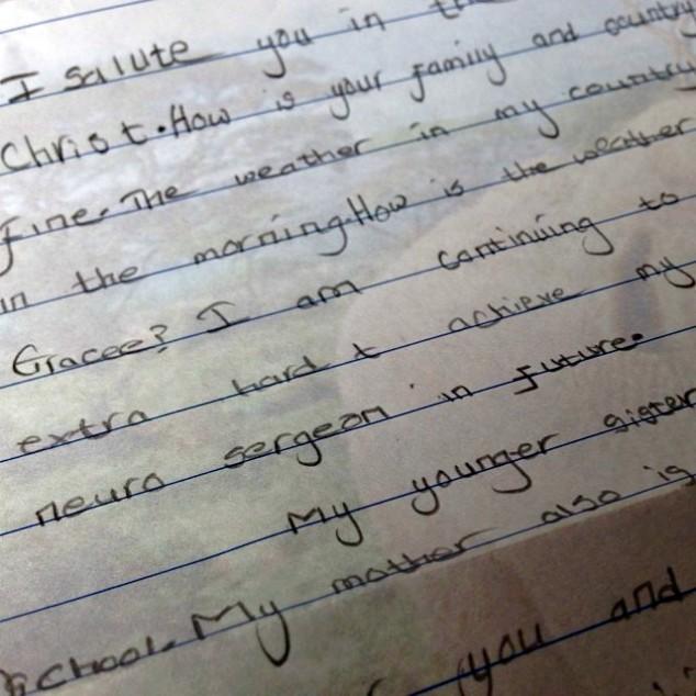 Nduta letter