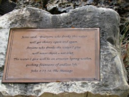 Scripture Sunday: Gushing Fountain