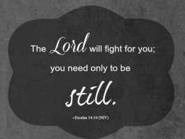 One Word Less For Lent 2017 – Day 3 – Fighting For You