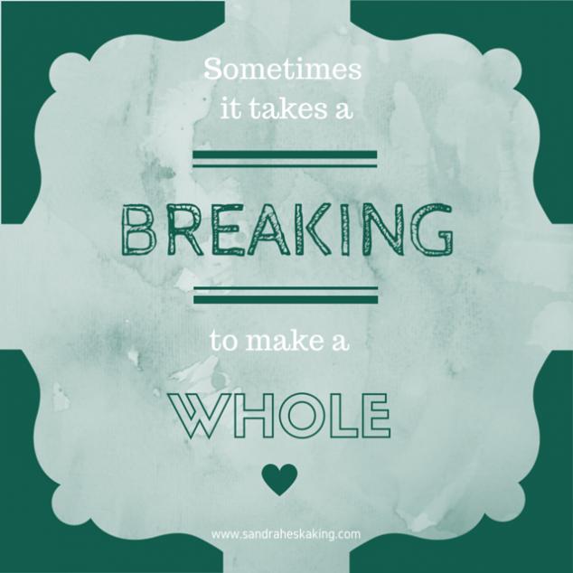 Sometimes it takes a breaking-3