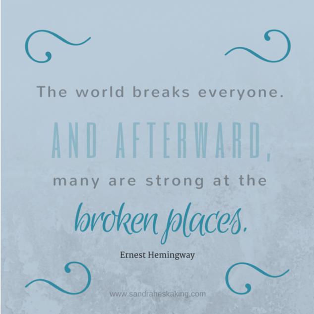 The world breaks everyone - faded