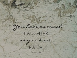LAUGHTER - LUTHER