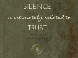 Still Saturday: If We Are Silent…