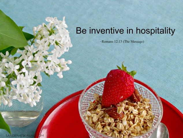 Simple Touches of Hospitality
